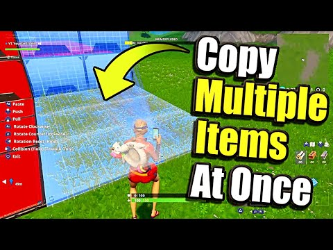 How To Copy Multiple Things At Once In Fortnite Creative Mode! (Multi Select Entire Floors!)