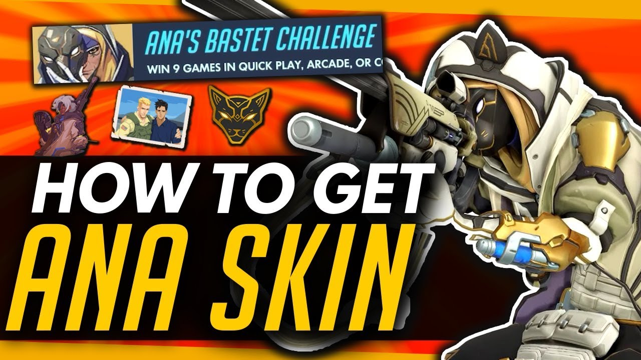 Overwatch: Bastet event guide - How to unlock Ana's Bastet skin and
