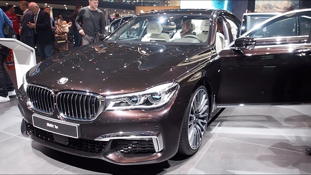 Bmw 750ld Xdrive 2017 In Detail Review Walkaround Interior Exterior Youtube