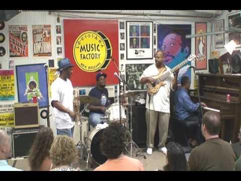 Kermit Ruffins @ Louisiana Music Factory JazzFest 2009