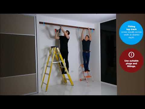How To Measure And Install Your Sliding Wardrobes