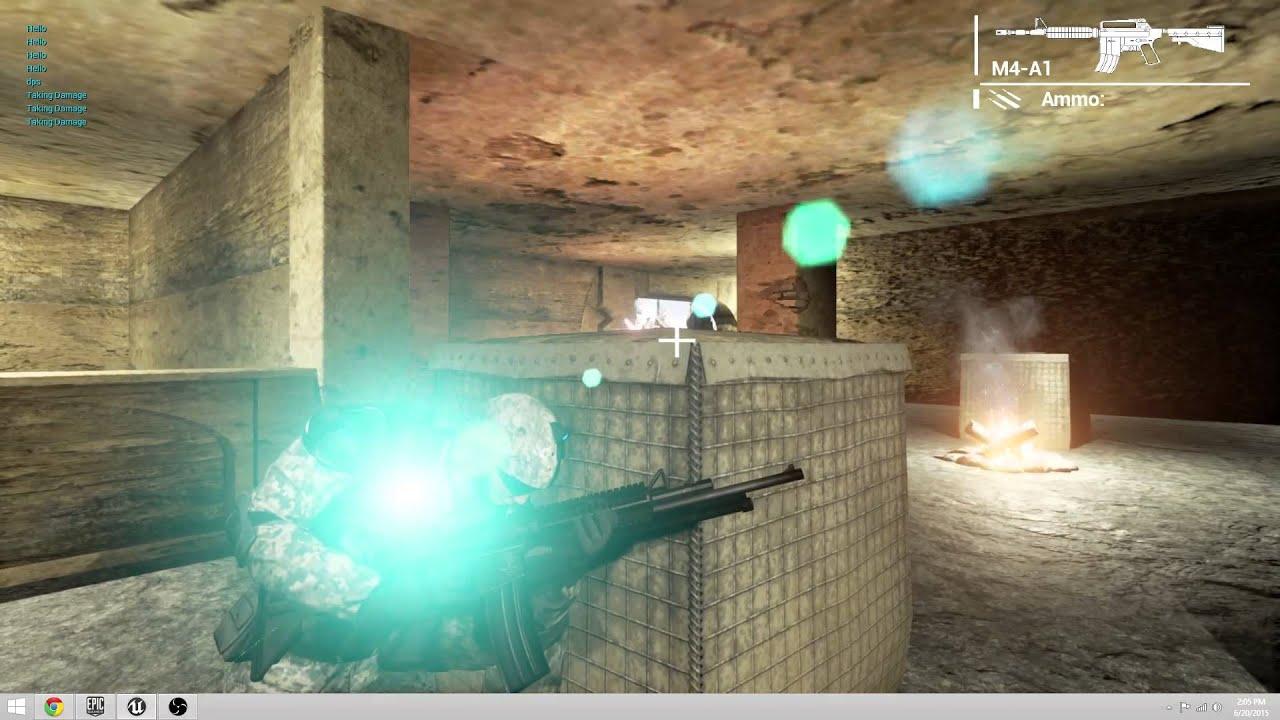 UE4 Third Person Cover Shooter Alpha Preveiw