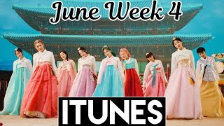 [TOP 30] US iTunes Kpop Chart 2018 [June Week 4] - itunes charts today country