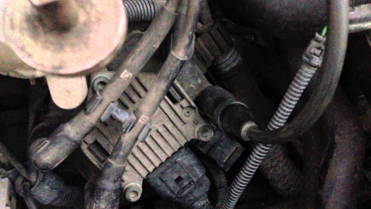 Misfire cylinder 4 VW JETTA MK4 20  YouTube