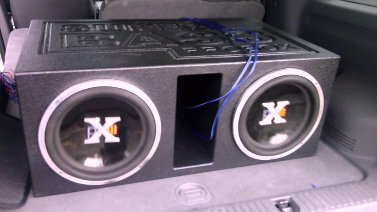 Powerbass 12s In A Superbass Probox Youtube