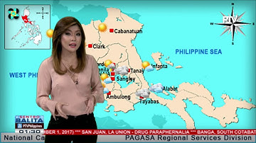 PTV INFO WEATHER: Hanging Amihan, bahagyang lumakas ang epekto sa Northern Luzon