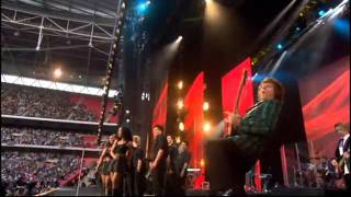 Rod Stewart - Sailing.- Live - Embley stadium 2007 (tribute to Lady Diana)
