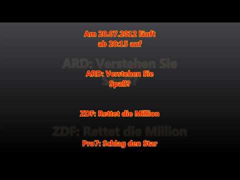 Fernsehprogramm 20 07 2012