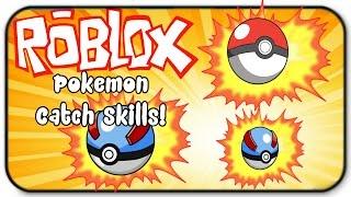 Roblox Pokemon Brick Bronze - Catching Pokemon Like a Pro!