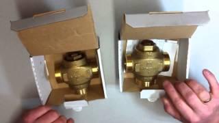 Сравнительный обзор трехходовых клапанов HERZ