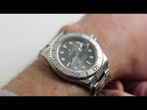 Rolex Oyster Perpetual Yacht-Master 116622 [Baselword 2016 Release] Luxury Watch Review