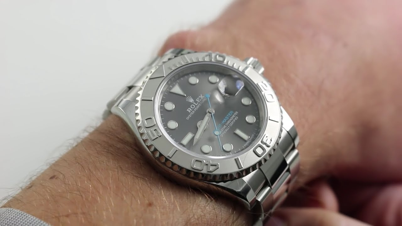 Rolex Oyster Perpetual Yacht,Master 116622 [Baselword 2016 Release] Luxury  Watch Review