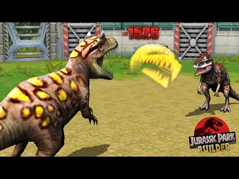 ALLOSAURUS vs INDOMINUS REX - JURASSIC TOURNAMENT! || Jurassic Park Builder