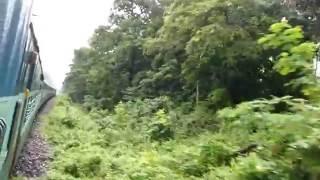 Kanchankanya Train Jungle Safari starts passing Sevoke Teesta River Bridge