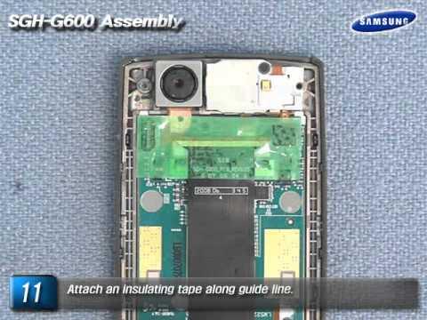 Samsung SGH-G600 Sub Assembly