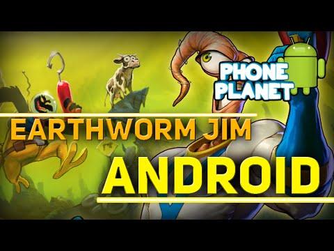 Обзор игры Earthworm Jim на ANDROID - Лучшие игры на андроид 2015 PHONE PLANET