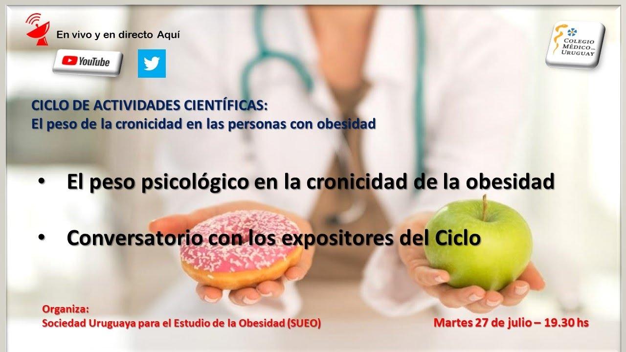 Download Ciclo de SUEO 2021: El peso de la cronicidad en las personas con obesidad 4º modulo (27/7/ 2021)
