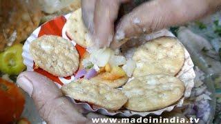 Sev Puri   Chaat Recipe   Indian Chaat Recipes    STREET FOODS 2017