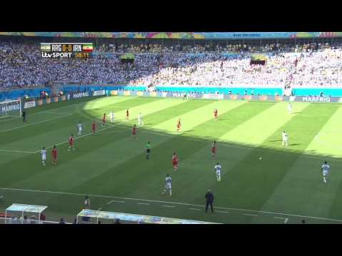 Argentina vs Iran 2014 HD (Full Game)
