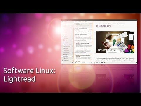 Software libre: Lightread
