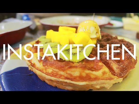 Instakitchen Manila E12: Crispy waffles at Rustic Mornings by Isabelo