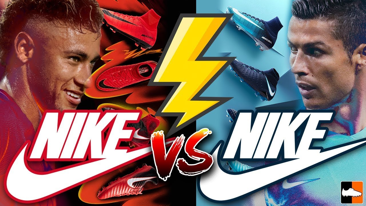 a283ac61d4d Neymar vs Ronaldo s New Boots ! Nike Play Fire   Ice Cleats Collection. Football  Boots