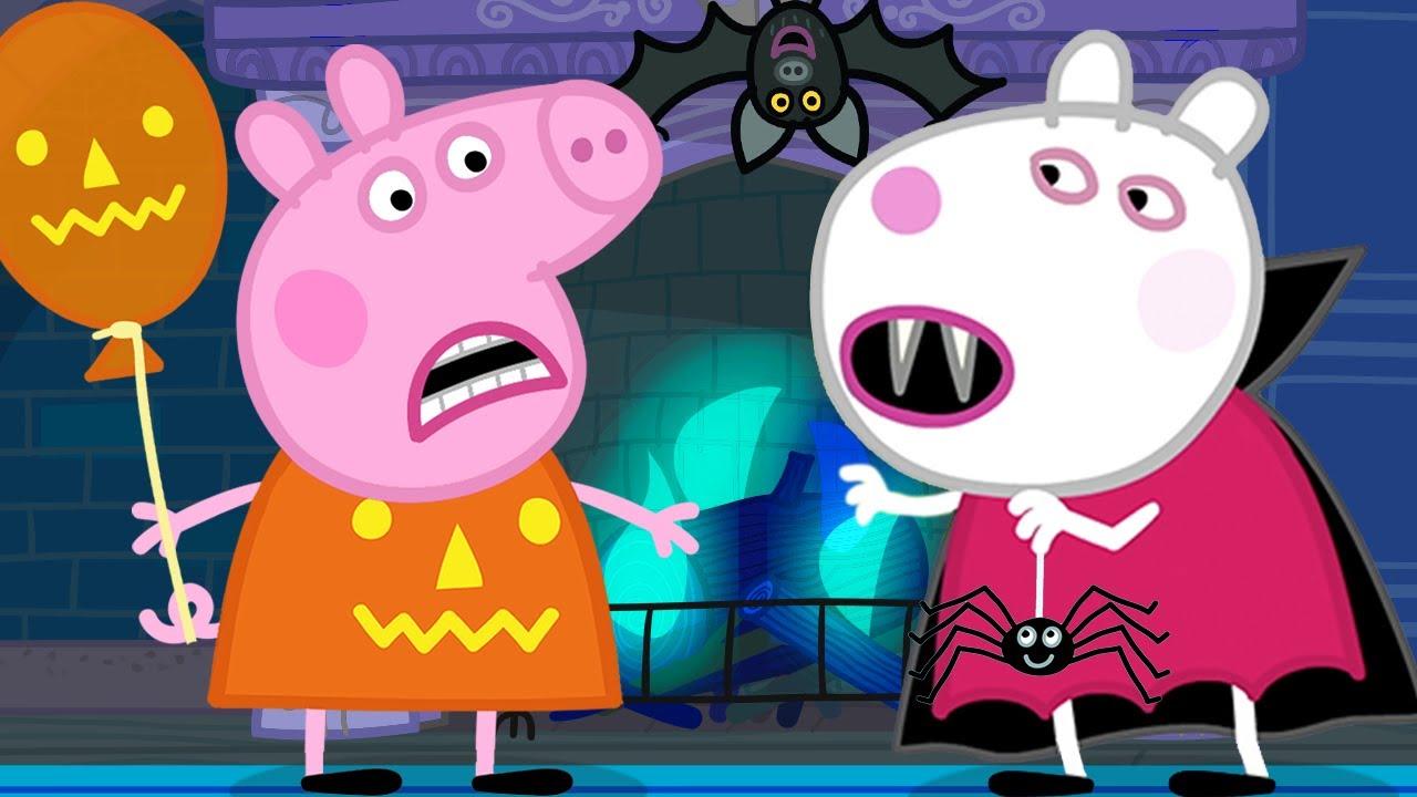 Peppa Pig en Español | La mejor fiesta de Halloween | Pepa la cerdita