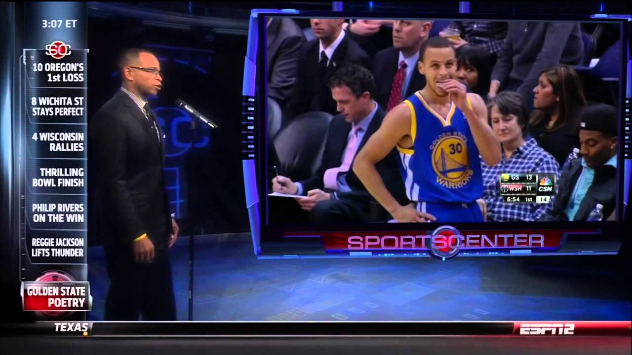 e2cc54a143a Stuart Scott spoken word segment on SportsCenter about the Warriors 1-5-14  - YouTube