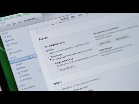 How to Back Up Using iTunes | Mac Basics