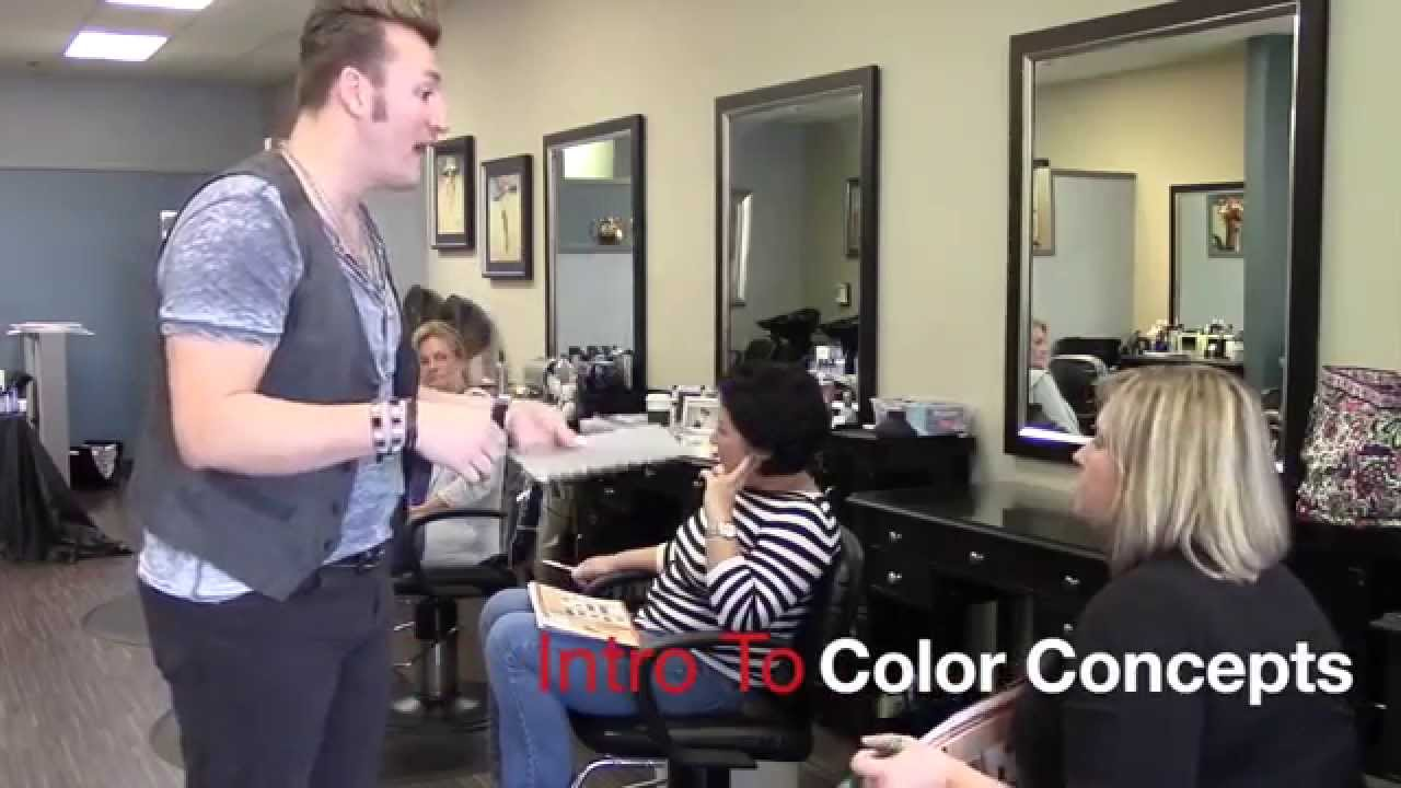 Tressa Intro To Color Concepts Class Featuring Gray Armstrong