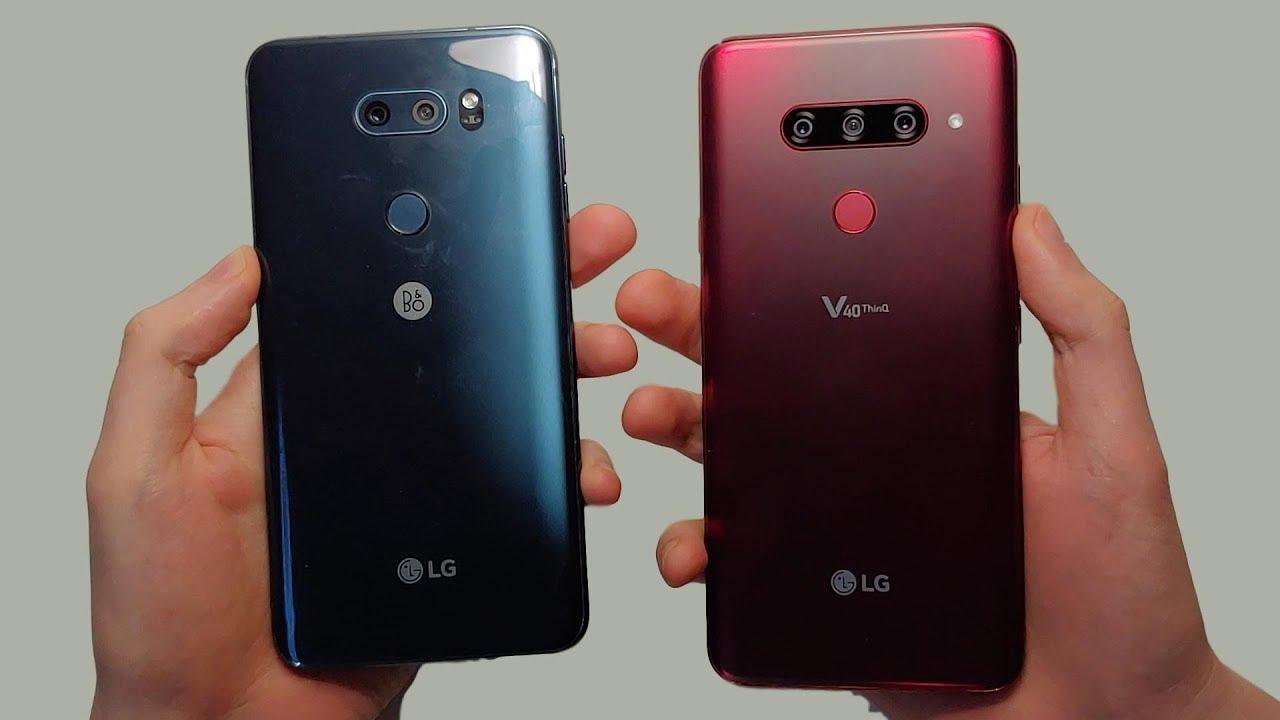 LG V30 vs LG V40 Speed Test, Cameras & Speakers! - Vloggest