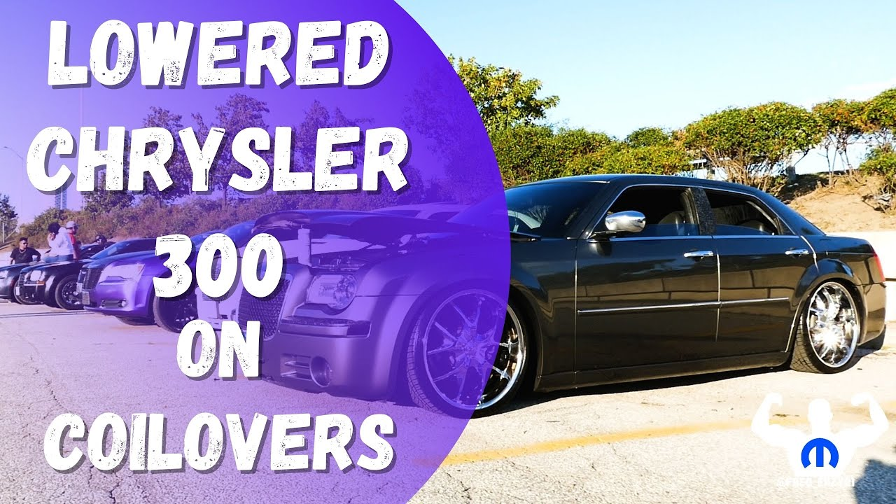 """Download Chrysler 300 Lowered w/ NEO Motorsport Type AA Coilovers- 3"""" Coilover Drop @ Northern Hooning meet"""