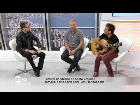 Festival de música de Santa Catarina | SBT Meio-Dia (03/08/2017)