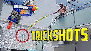 NERF-Pyssy Trickshots! feat. Miklu