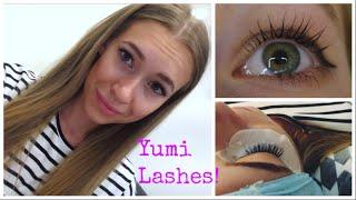 видео Ламинирование ресниц Yumi lashes. Что это такое?