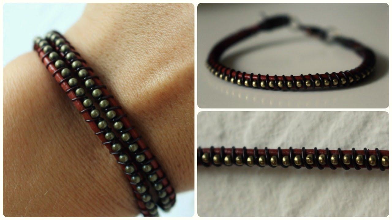 armband selber machen diy bracelet eng sub youtube. Black Bedroom Furniture Sets. Home Design Ideas