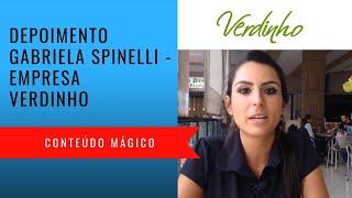 Depoimento Gabriela Spinelli - Verdinho Falls - Conteúdo Mágico