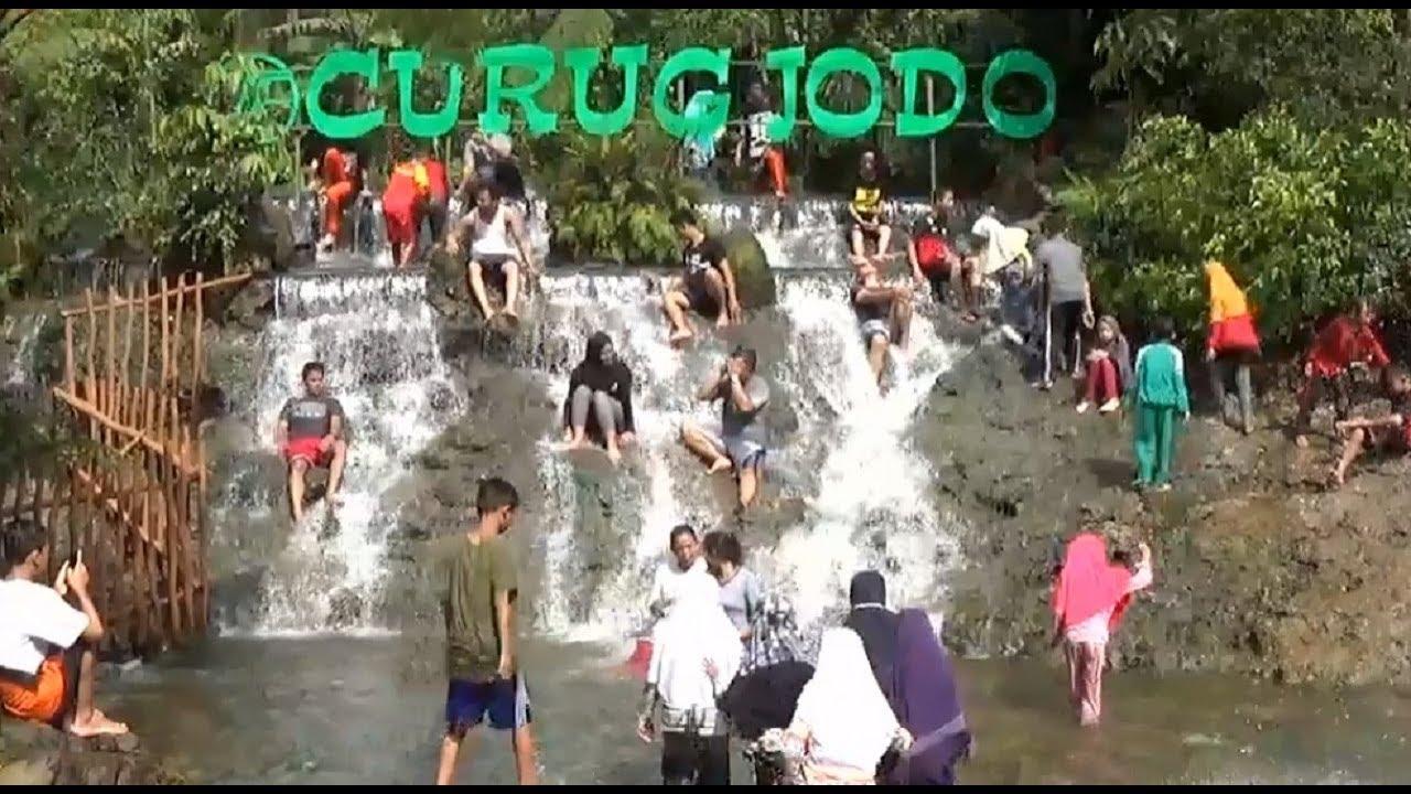 Curug Jodo : Kawasan Wisata Pemandian Air Panas Sari Ater Subang