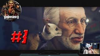 WOLFENSTEIN 2: THE NEW COLOSSUS – Full Gameplay Walkthrough Part 3 - 1080p HD