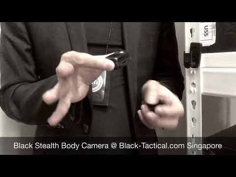 Black Stealth Personal Body Camera