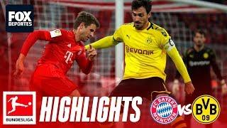 Bayern Munich 4-0 Borussia Dortmund | HIGHLIGHTS | Jornada 11 | Bundesliga
