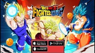 Trải Nghiệm Dragon Ball Z - Fighter King | Game Mobile Thẻ Tướng 7 Viên Ngọc Rồng Cực Đẹp