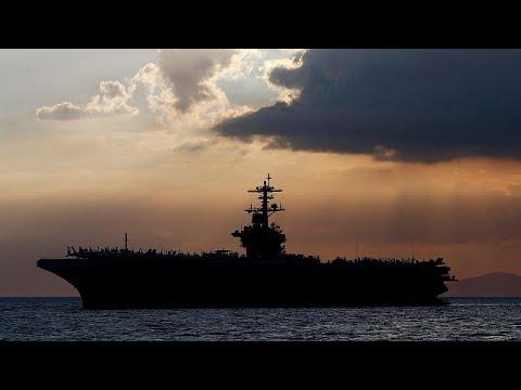 شاهد:البحرية الأمريكية تخلي حاملة الطائرات تيودور روزفلت بعد إصابة الطاقم بفيروس كورونا…  - نشر قبل 13 ساعة