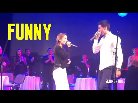 Novak & Jelena Djokovic Singing FUNNY - Belgrade 2020 (HD)