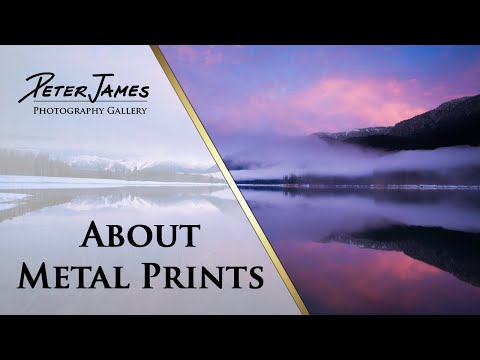 About Metal Prints | Washington State Nature Photography