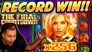 MEGA WIN!!! Final Countdown BIG WIN - HUGE WIN from CasinoDaddy Live Stream