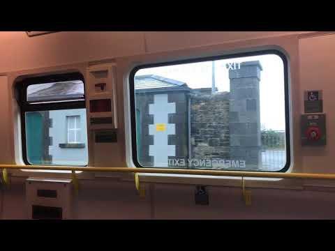 Ride on an Irish Rail 2800 DMU on the full Ballybrophy to Limerick via Nenagh line (10/3/18)
