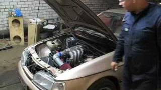 Ford Sierra 2.0 OHC MegaSquirt first start(2.0 OHC Pinto with MegaSquirt I, IS slightly ported head, 63mm throttle body, stock headers & exhaust, AE stock camshaft, engine rebuilt & with stock internals., 2009-09-20T21:59:58.000Z)
