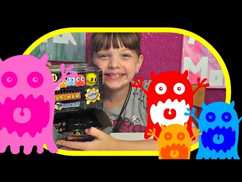 Pac-Man Mashems New Squishy Toys Surprise Opening And Review