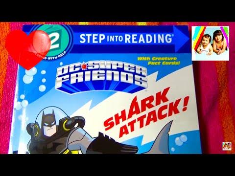 BATMAN - DC SUPER FRIENDS - SHARK ATTACK - BOOK - Read Aloud